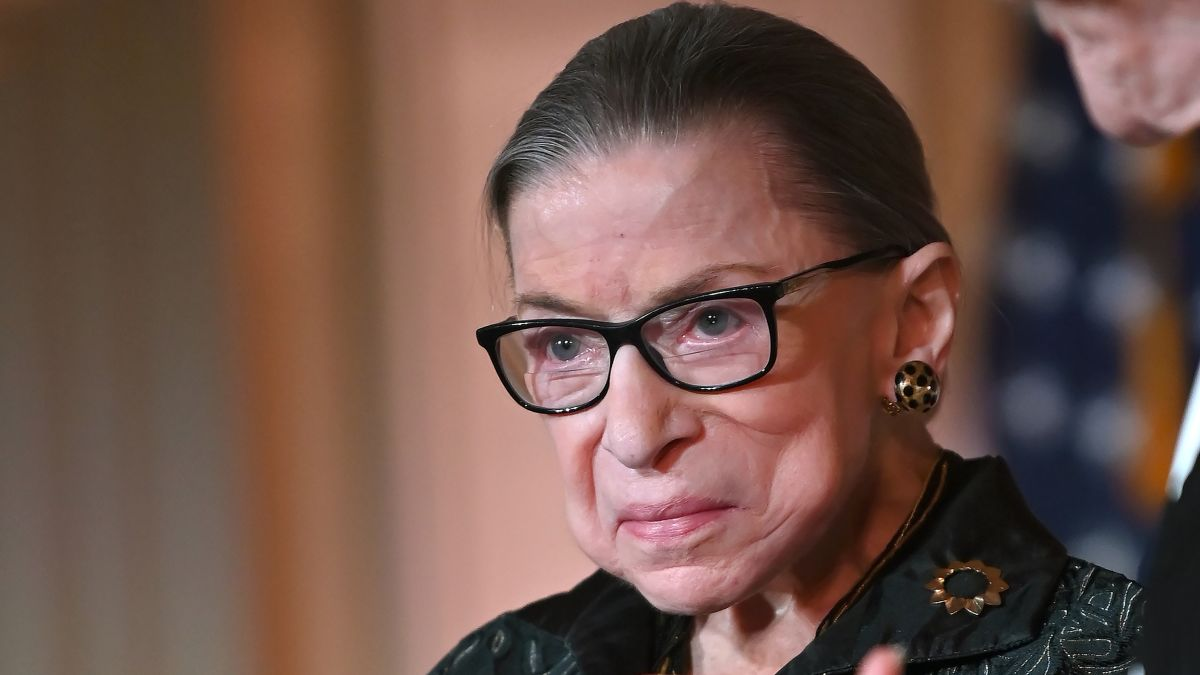Because its 2020 … Justice Ruth Bader Ginsburg Has Died