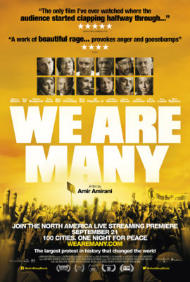 """We Are Many"" documentary live streaming at the Loft Cinema starting September 21"