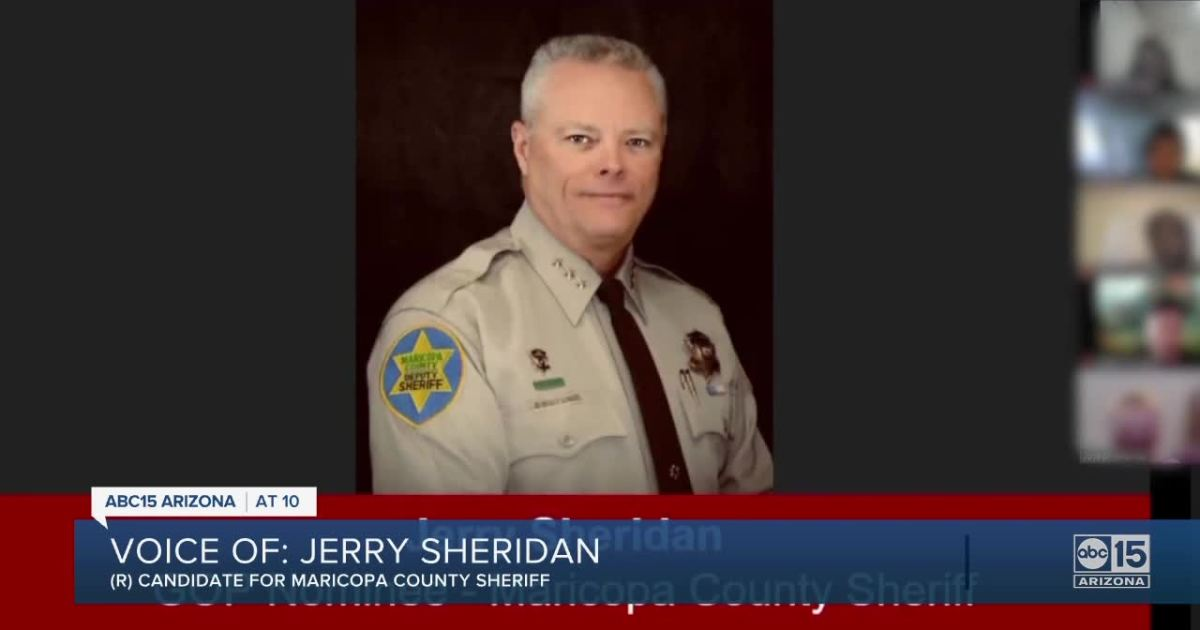 Document shows Maricopa County Republican Sheriff Nominee Jerry Sheridan Uses Racist Language