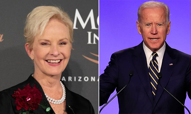 Thank you Cindy McCain