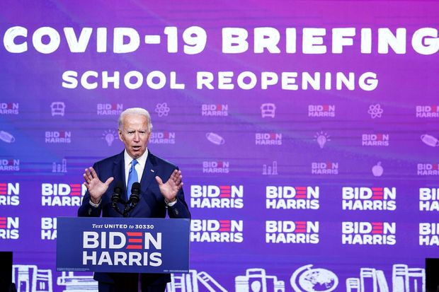 In an Event on Safely Reopening Schools, Joe Biden labels Trump and Republicans Know Nothings