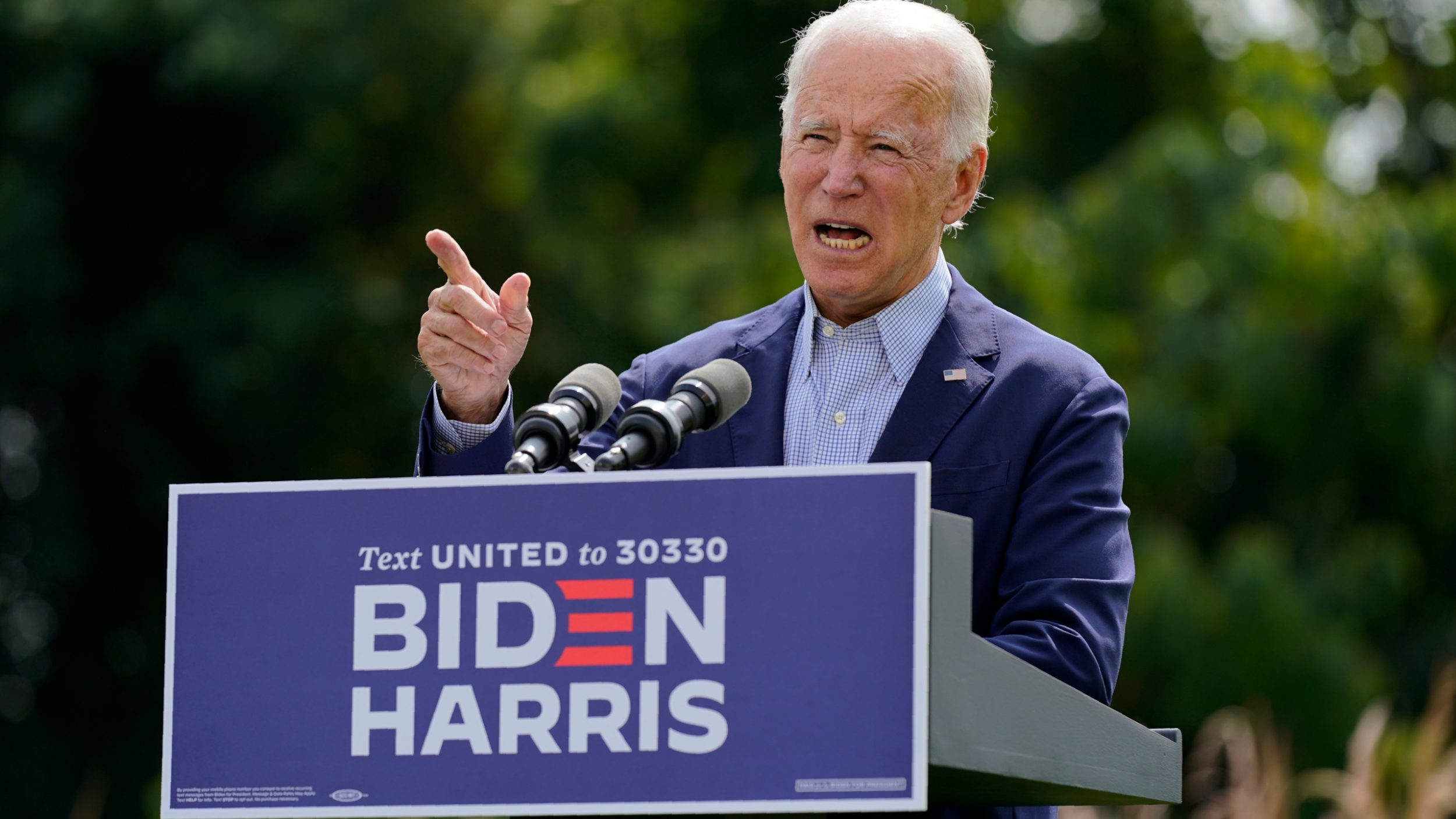 "With the West Coast Burning, Biden calls Trump a ""Climate Denier"" and ""Climate Arsonist"""