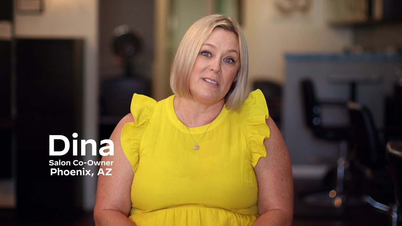 Dina, a  Phoenix Salon Owner, feels Joe Biden is the best Option for Small Businesses like Hers