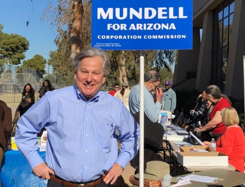 Bill Mundell wants to bring his Pro Family and Consumer Protection Experience back to the Arizona Corporation Commission