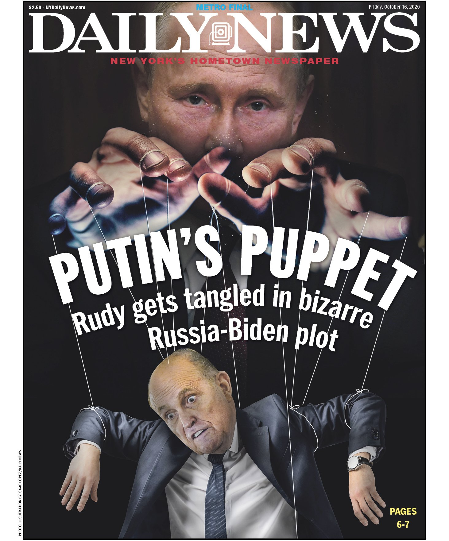 Rupert, And Rudy, And Russian Collusion, Oh My!