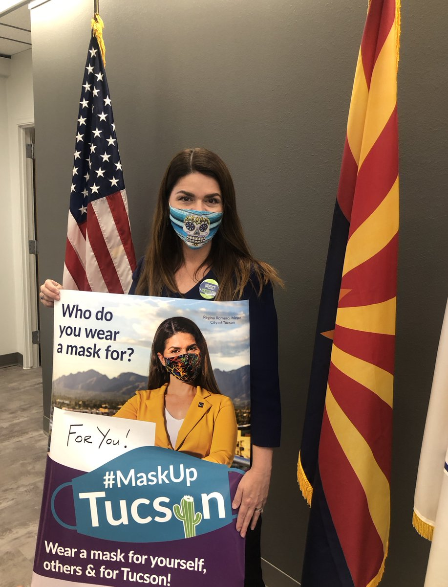 Anti-Mask COVID-Deniers File Recall Petition Against Tucson Mayor Regina Romero