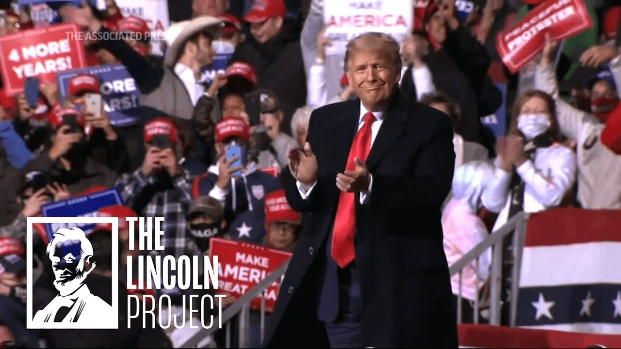 "The Lincoln Project Pokes Fun at Trump in ""Covey Spreader"" and ""Seriously"""