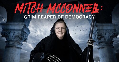 Mitch McConnell Demands His Weapon Of Mass Destruction, The Filibuster – Screw Him!
