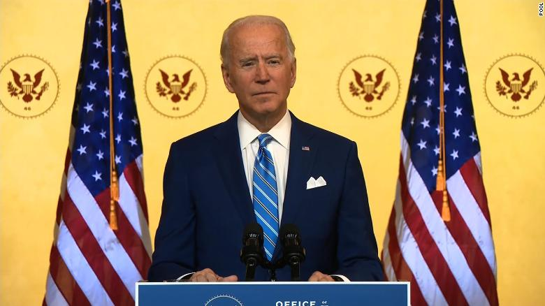 While Trump Pardoned a Traitor, President-Elect Biden gave a Thanksgiving Address to Rally the People