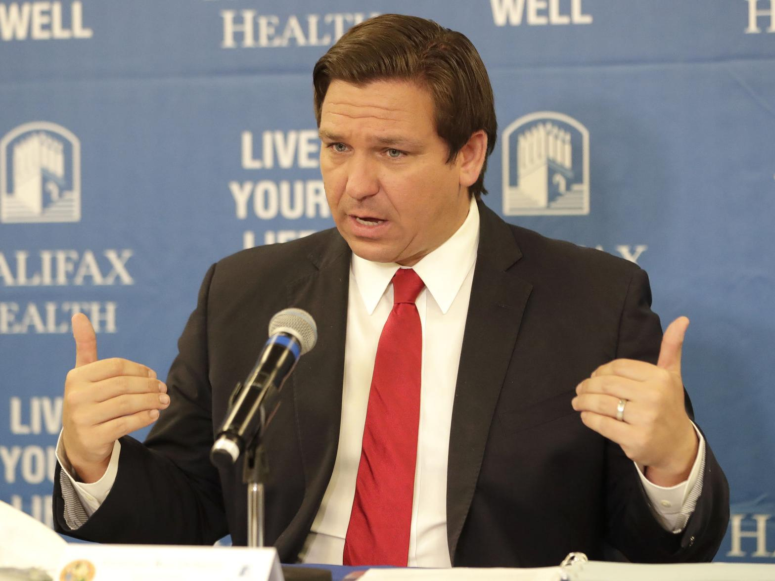 At least Arizonans do not have to Deal with a Science Denying Moron like Florida's Ron DeSantis