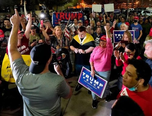 Thugs Attacking Vote Counting Centers Have No Place in American Society
