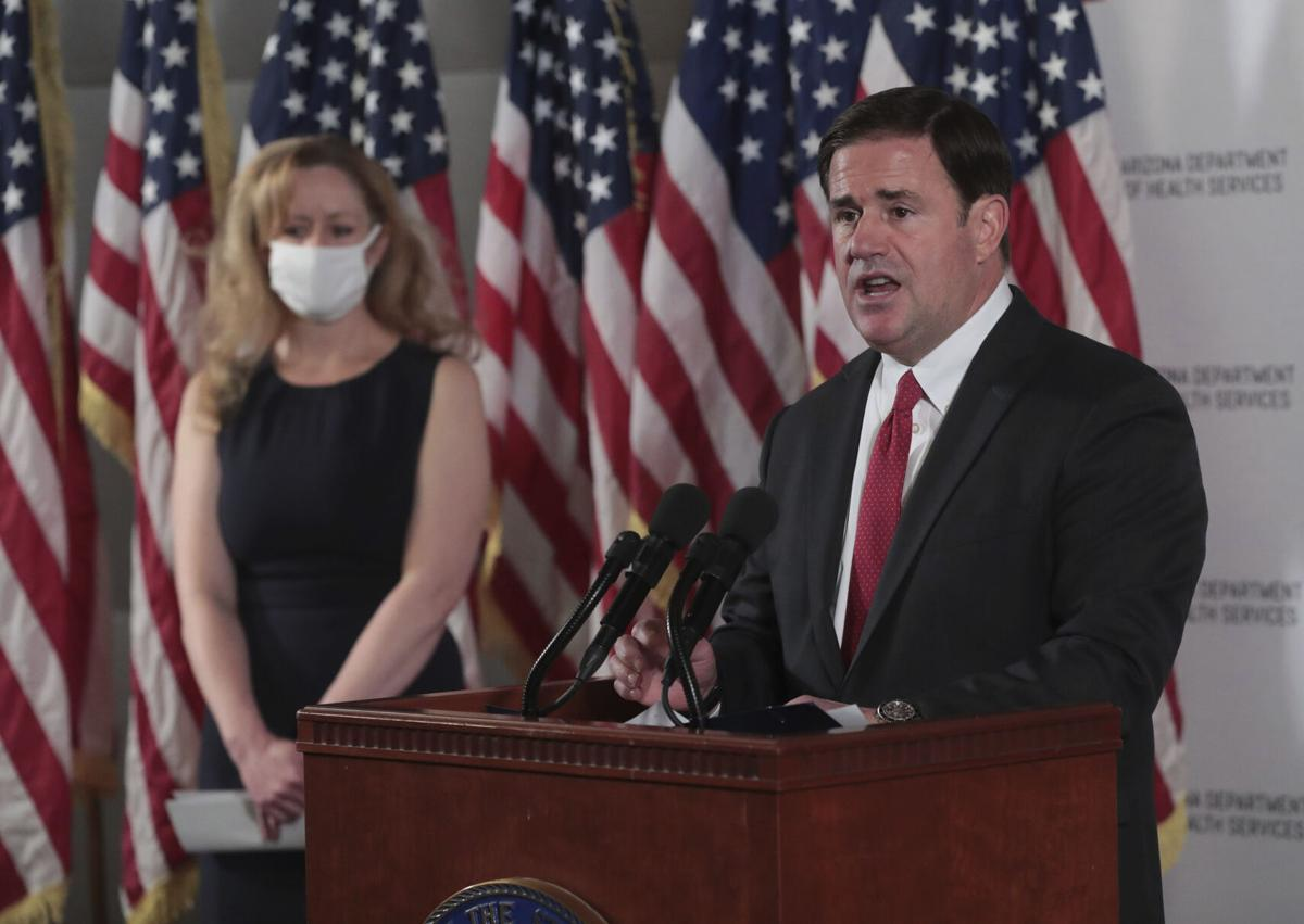 Governor Ducey does not Announce a Statewide Mask Wearing Mandate at his 11/18/20 Press Briefing