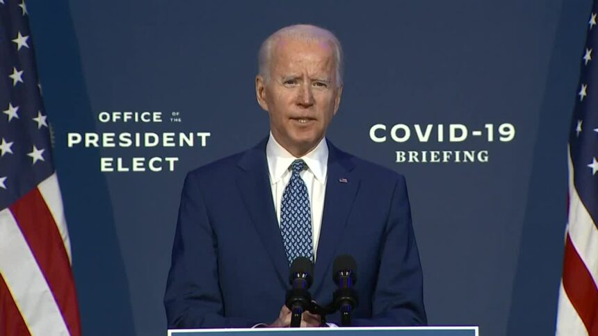 With COVID 19 Raging Across the Country, President-Elect Biden Announces his Coronavirus Task Force