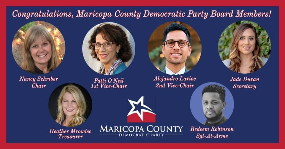 Nancy Schriber Discusses the Direction She would like to take the Maricopa County Democratic Party