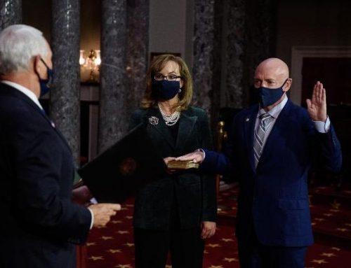 It's Official: Mark Kelly Sworn In As U.S. Senator