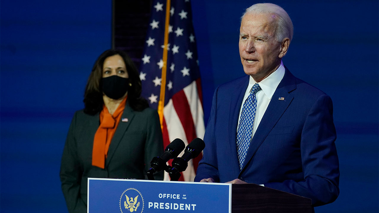 President-Elect Biden Complains about Trump Transition Obstruction and Warns the People that Undoing Trumpism will Take Time