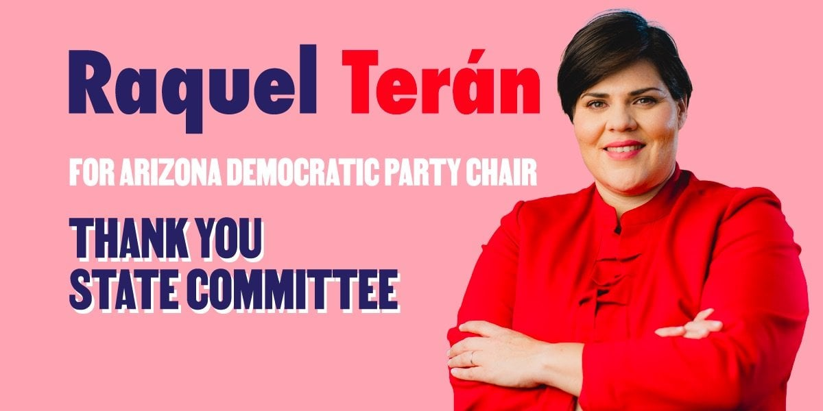 Raquel Teran is the New Chairperson of the Arizona Democratic Party