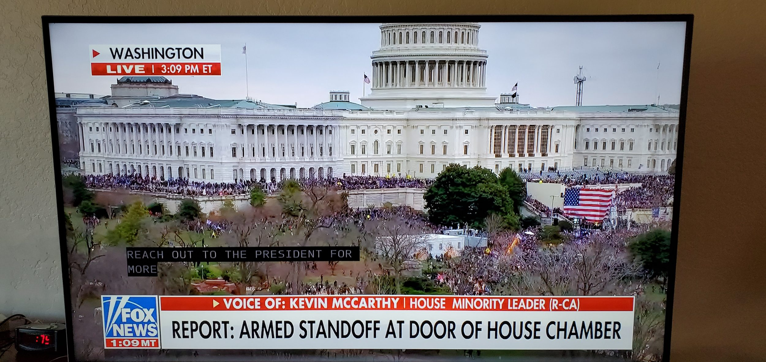 Armed Trump Terrorists Take Over US Capitol and Shut Down the Senate