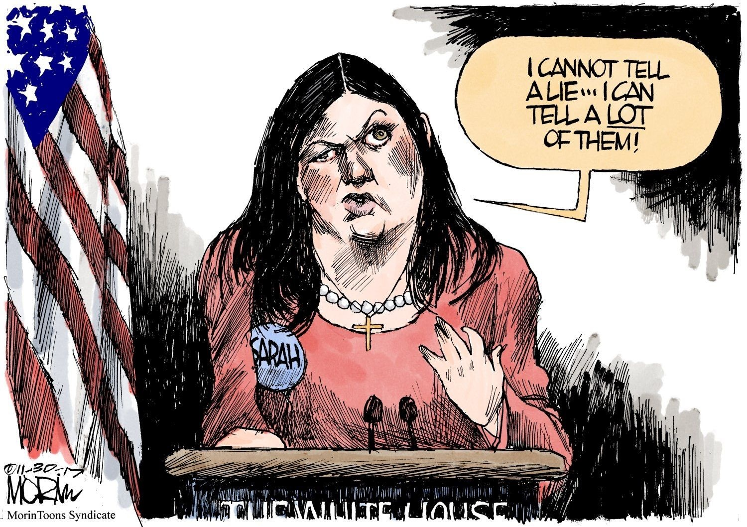 Shameless Liar Sarah 'HuckaSanders' Running For Governor of Arkansas