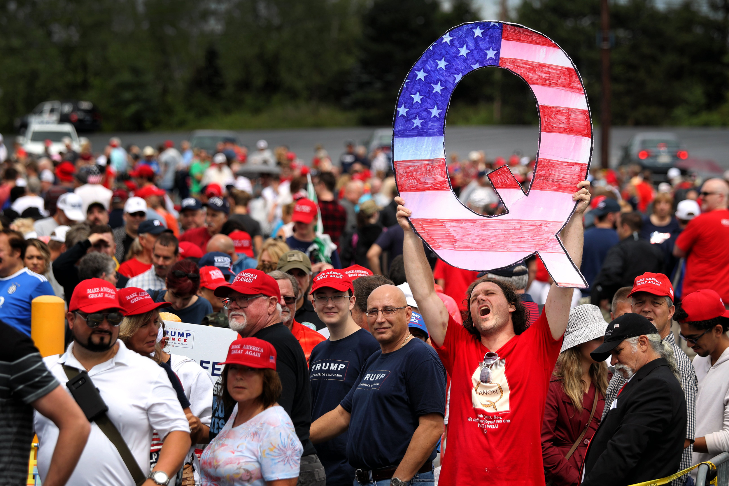 Crackdown Coming For The QAnon Cult Domestic Terrorists