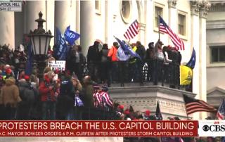 Trump Thugs Breach The Capitol