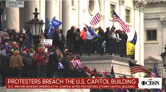 Trump Thugs Breach The Capitol