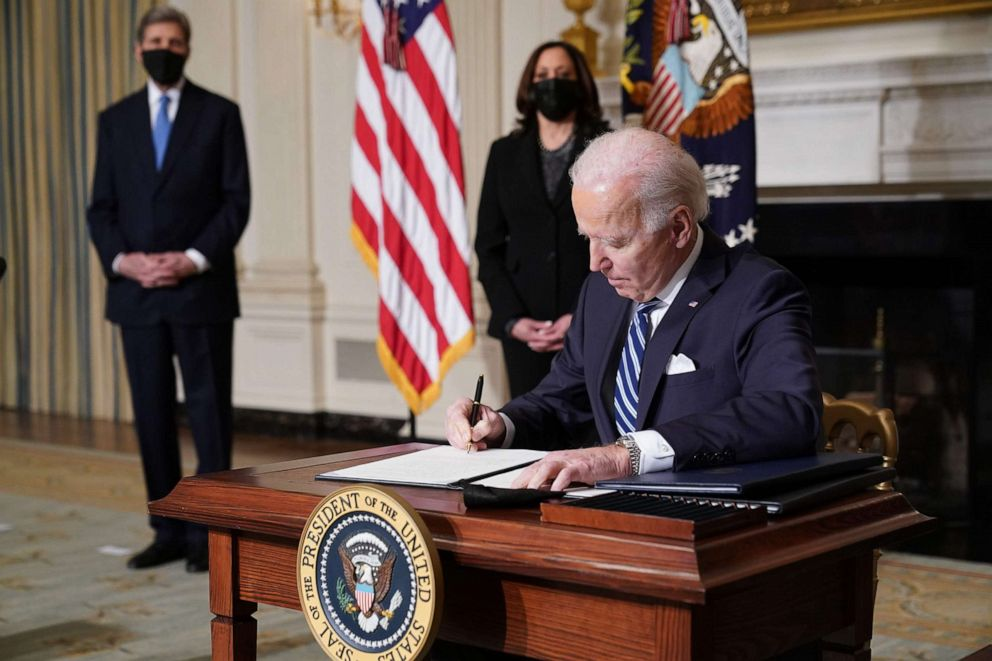 (UPDATED) President Biden Tackles Climate Change and Jobs with Three New Executive Orders