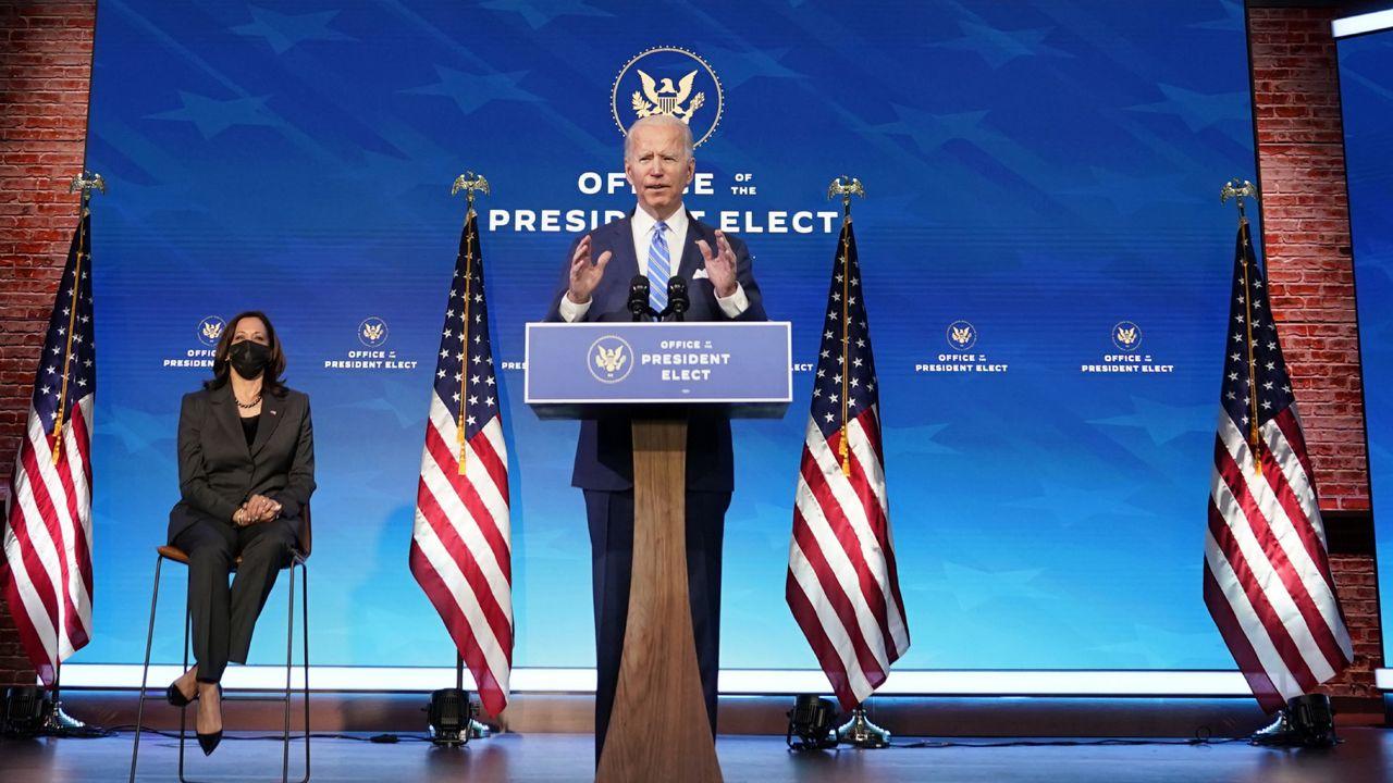 President-Elect Biden Unveils the American Rescue Plan