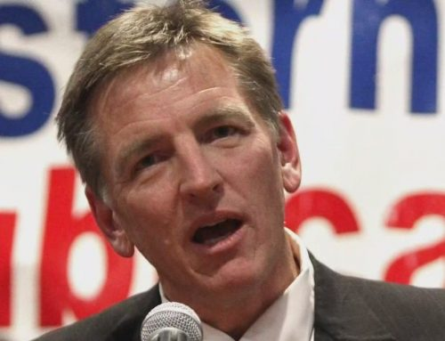 """WATCH: Gosar Speaks Between White Nationalists And Redefines """"Climate Crisis"""" To Be About """"Angry, Violent Communists"""" Favoring Aliens"""