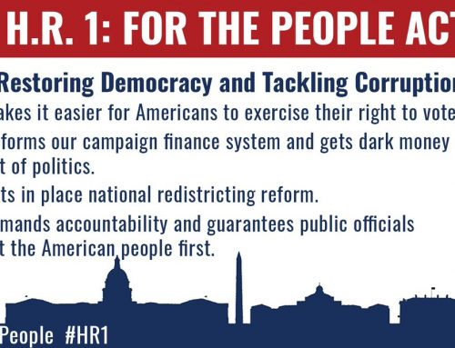 Action Alert: HR 1 For The People Act Is Up For A Vote Next Week