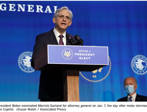 Judge Merrick Garland To Finally Get A Confirmation Hearing – For Attorney General