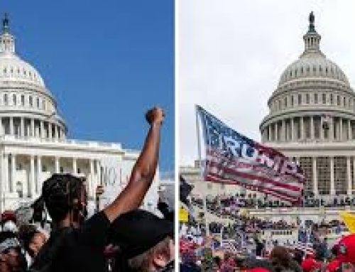 The January 6 Domestic Terrorist Attack on the Nation's Capitol IS NOT the same as the 2020 Summer Protests
