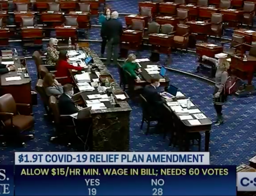 Senator Kyrsten Sinema's Too Cute By Half Thumbs Down Curtsey Vote of The Raise The Wage Act